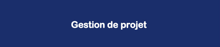 Formation Conduite de projet  « La conduite de projet : savoir optimiser et faciliter les relations et les actions »